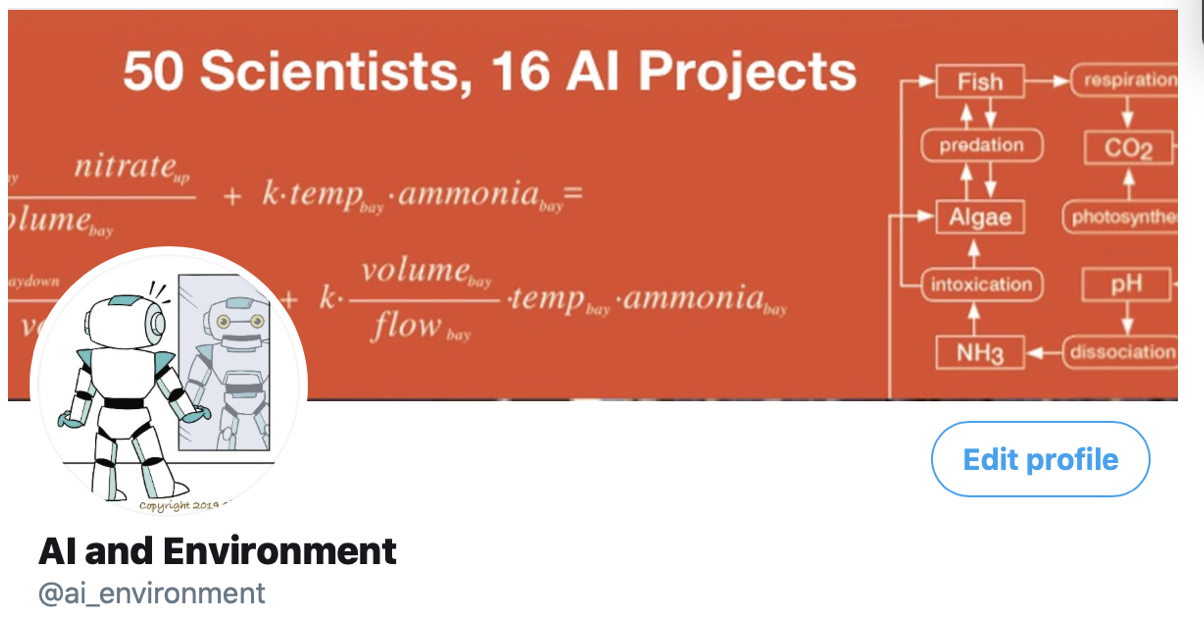 ai and environment tweet splash page          image